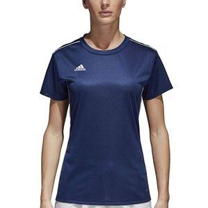 Adidas Women's Navy Blue Top Medium